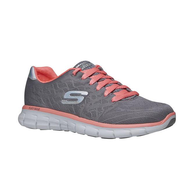 Chaussure de sport femme skecher, Gris, 509-2659 - 13