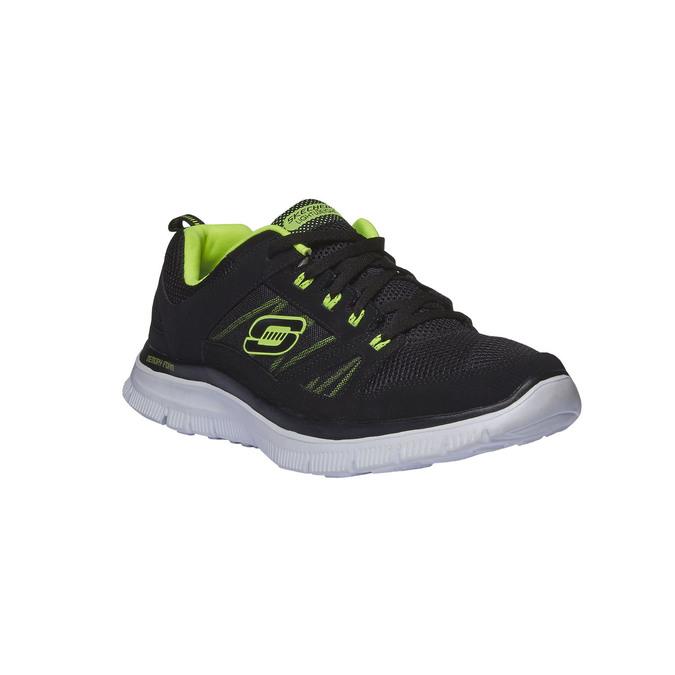 Chaussure de sport homme skecher, Noir, 809-6977 - 13
