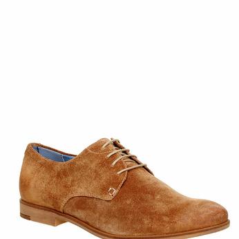 Chaussure lacée Derby en cuir vagabond, Brun, 823-3104 - 13