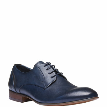 Chaussure lacée Derby en cuir bata, Violet, 824-9538 - 13