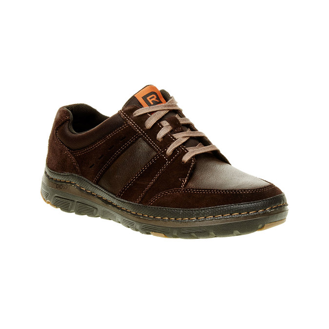Chaussures homme rockport, Brun, 843-4100 - 13