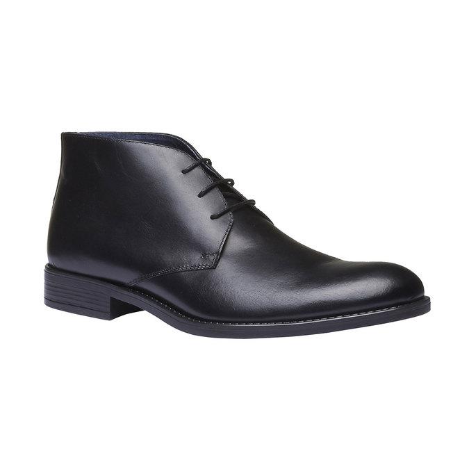 Boots Chukka en cuir bata, Noir, 894-6439 - 13