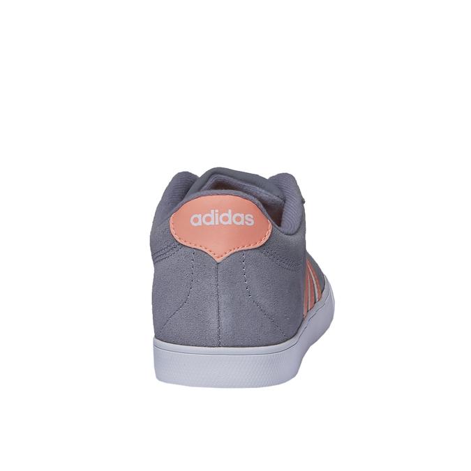 Basket décontractée en cuir adidas, Gris, 503-2685 - 17
