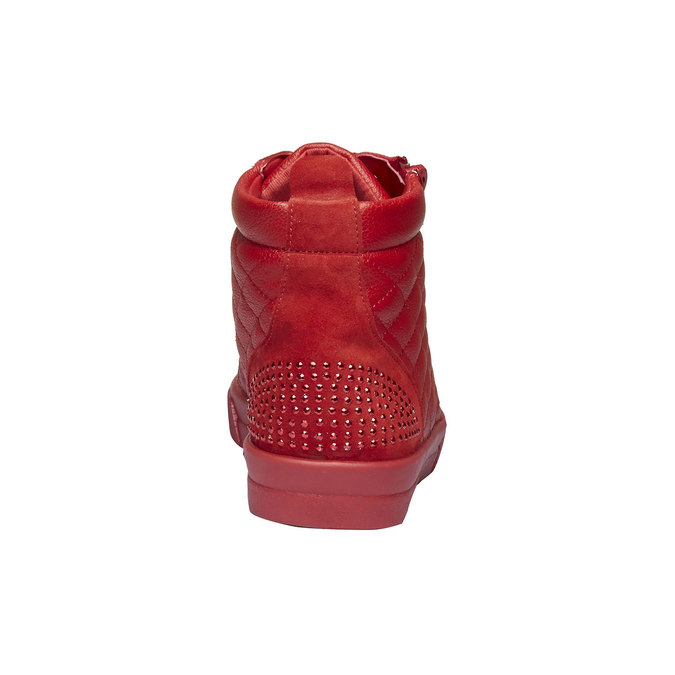 Basket montante rouge north-star, Rouge, 543-5127 - 17