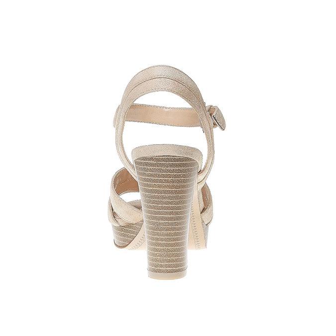 Sandale à lanières femme bata, Brun, 769-4484 - 17