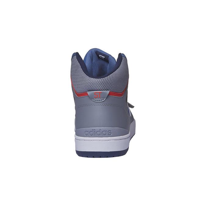 Basket montante homme adidas, Violet, 803-9151 - 17