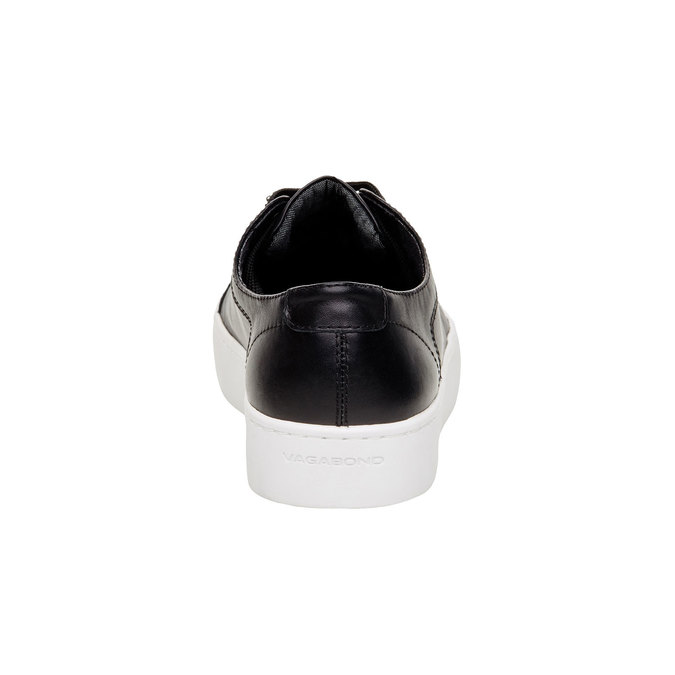 Basket en cuir femme vagabond, Noir, 544-6013 - 17