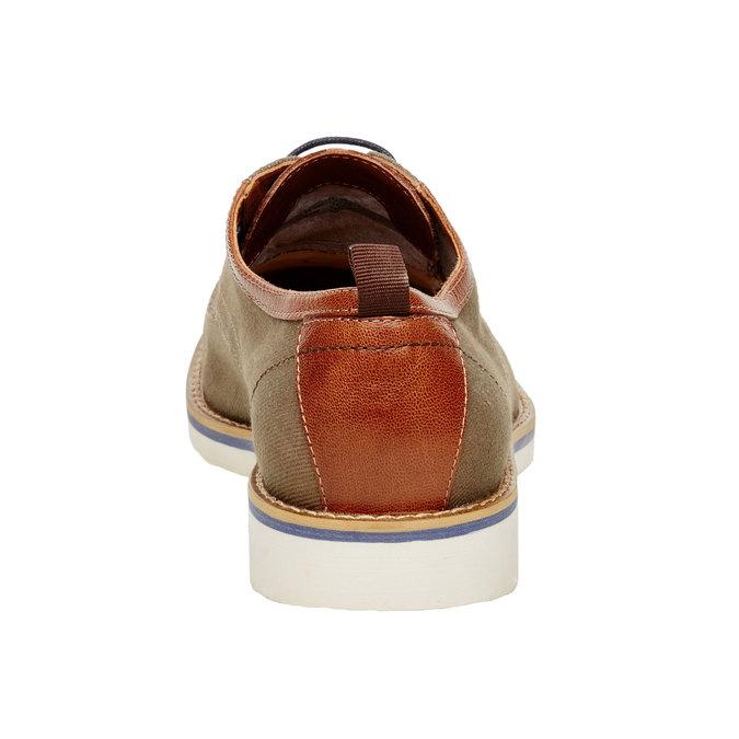 Chaussure lacée décontractée pour homme vagabond, Vert, 829-7002 - 17
