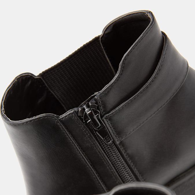 Bottines à talon massif bata, Noir, 691-6150 - 19