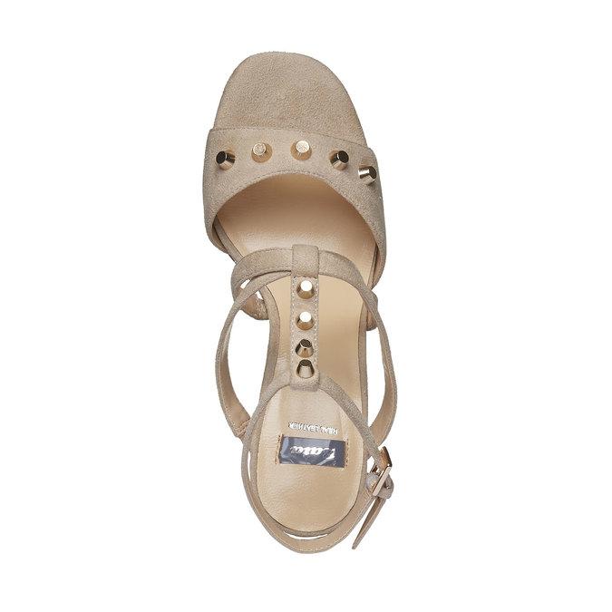 Chaussures Femme bata, Jaune, 769-8534 - 19