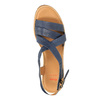 Sandale en cuir femme flexible, Violet, 764-9538 - 19