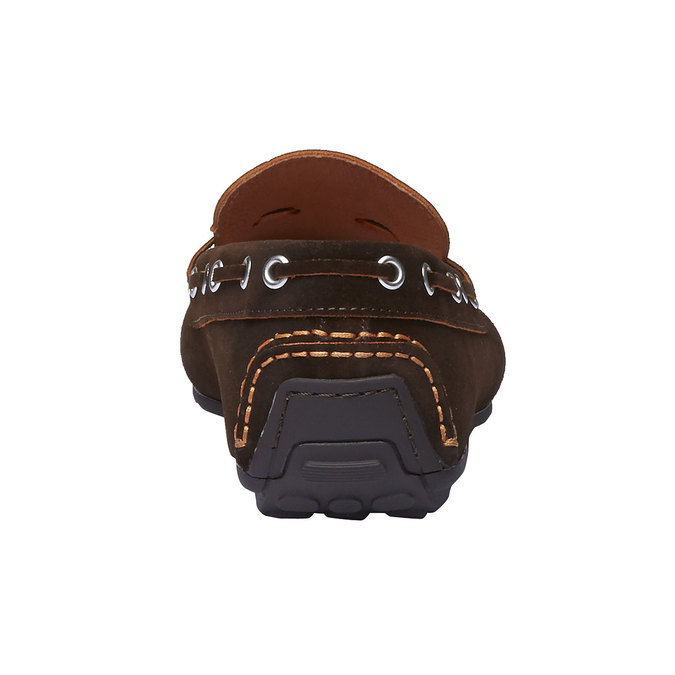 Mocassin à glands en cuir pour homme shoemaker, Brun, 853-4182 - 17