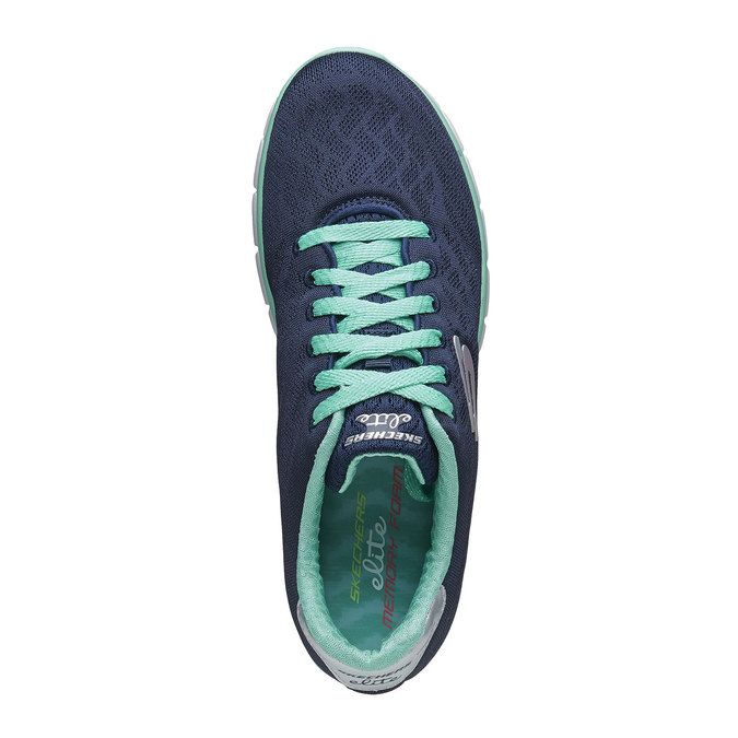 Chaussure de sport femme skecher, Violet, 509-9659 - 19