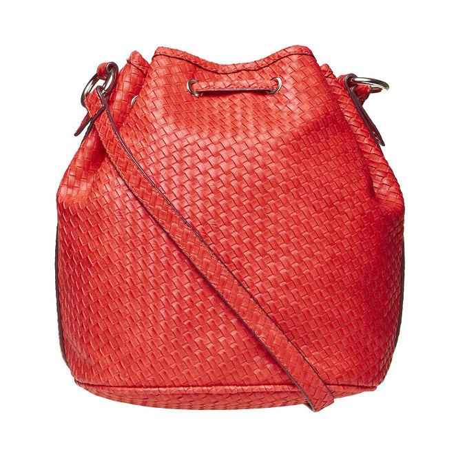 Bucket Bag bata, Rouge, 961-5787 - 26