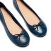 Ballerines en cuir bata, Violet, 524-9144 - 26