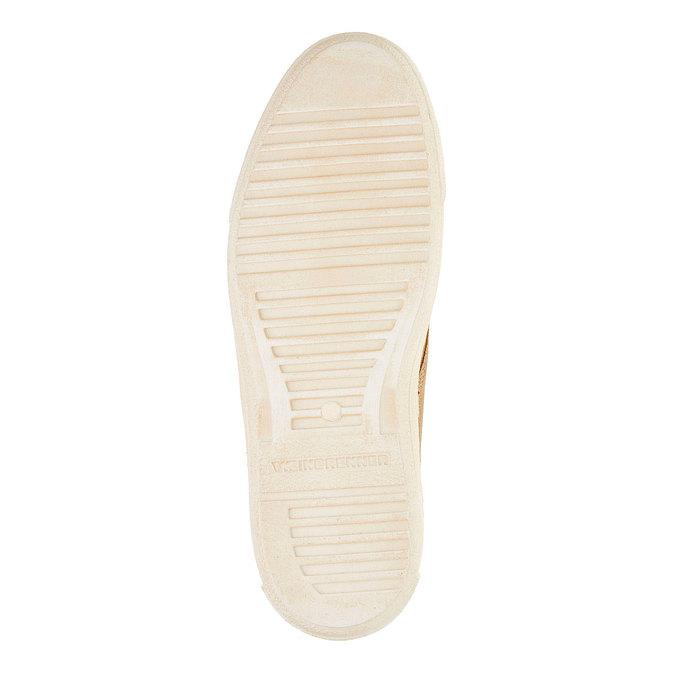 Chaussure homme en cuir weinbrenner, Brun, 843-8661 - 26