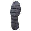 Chaussures en cuir à flatform bata, Noir, 524-6255 - 26