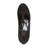 Escarpin en cuir avec bride en T bata, Noir, 723-6501 - 19