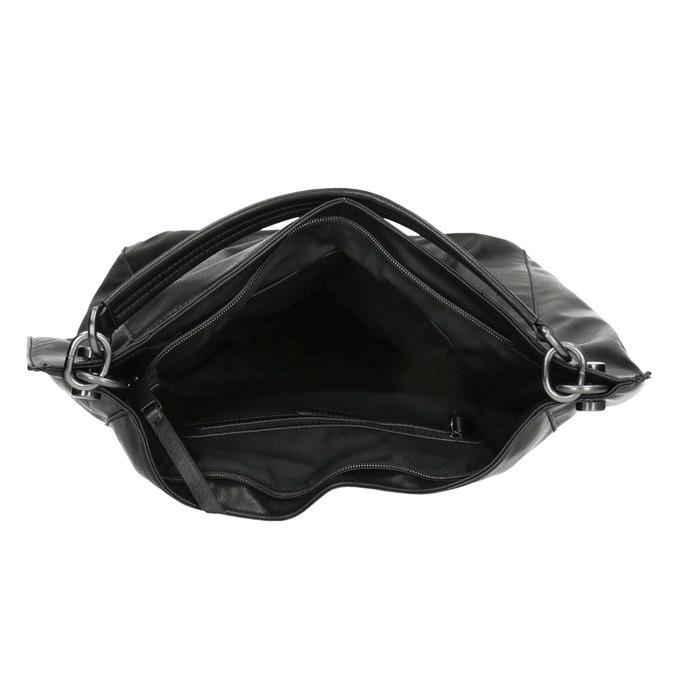 Sac Hobo noir bata, Noir, 961-6808 - 15