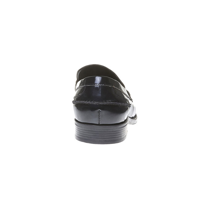 Penny Loafers homme bata, Noir, 811-6150 - 17