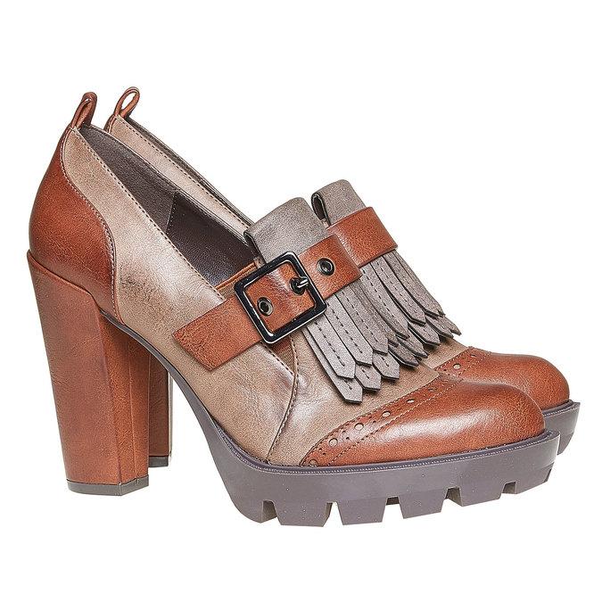 Chaussures Femme bata, Brun, 721-3211 - 26