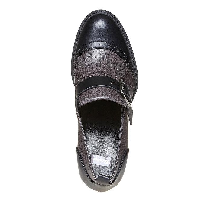 Chaussures Femme bata, Gris, 721-2211 - 19