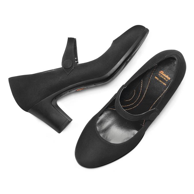 Chaussures Femme flexible, Noir, 623-6220 - 19
