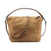 Sac à main surpiqué en cuir bata, Brun, 963-3130 - 26
