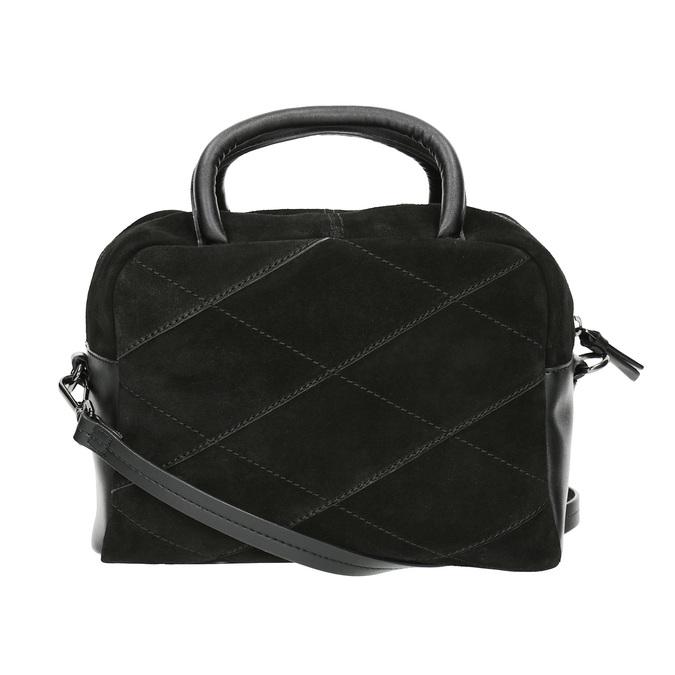 Petit sac bandoulière en cuir bata, Noir, 963-6133 - 19