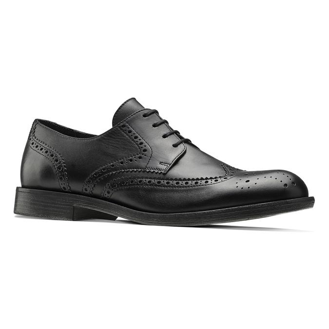 Chaussure Derby en cuir bata, Noir, 824-6429 - 13