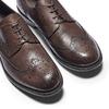 Chaussure lacée en cuir pour homme style Derby bata, Brun, 824-4429 - 19