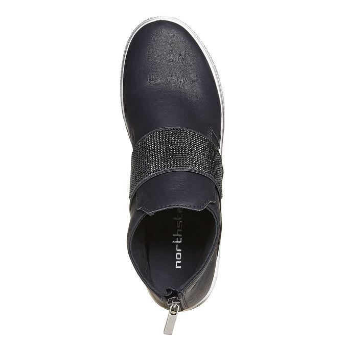 Chaussures Femme north-star, Noir, 541-6265 - 19