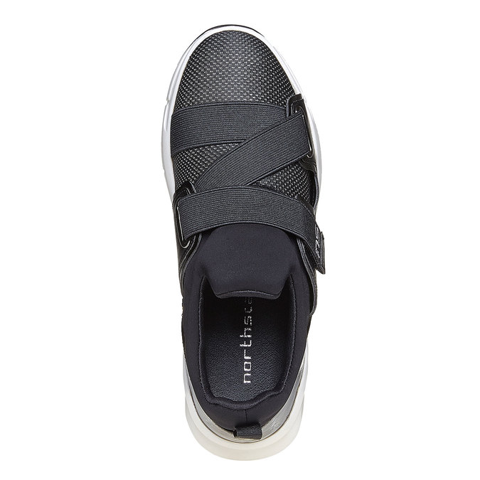 Chaussures Femme north-star, Noir, 549-6140 - 19