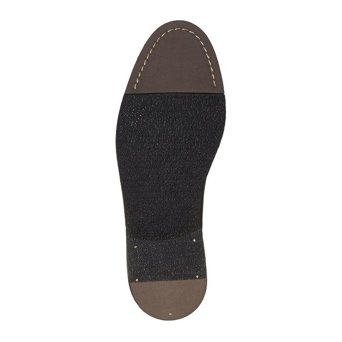 Chaussure en cuir Chelsea Boots bata, Noir, 894-6566 - 26
