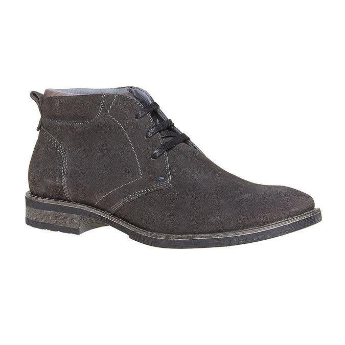 Chaussures Homme bata, Gris, 823-2533 - 13