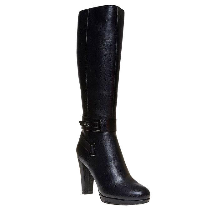 Chaussures Femme bata, Noir, 791-6306 - 13
