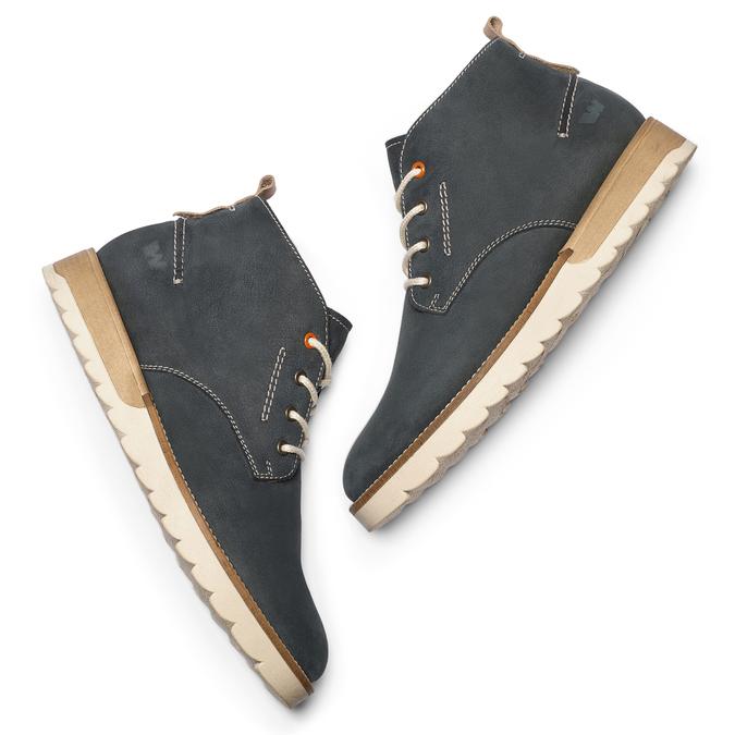 Chaussures Homme weinbrenner, Violet, 896-9452 - 19