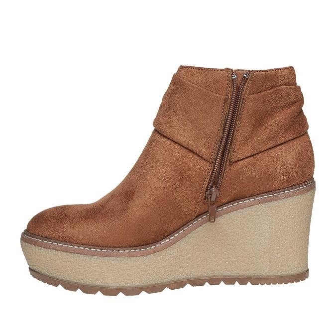 Chaussures Femme bata, Brun, 799-3200 - 19
