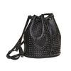 Sac à main dans le style Bucket Bag bata, Noir, 961-6853 - 13