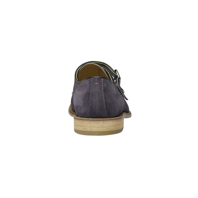Monk Shoe en cuir shoemaker, Violet, 813-9104 - 17