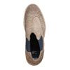 Chaussures en daim Chelsea bata, Brun, 893-2373 - 19