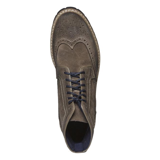 Boots en daim bata, Brun, 893-2372 - 19