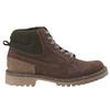 Chaussures de marche nubuck weinbrenner, Brun, 896-4628 - 26