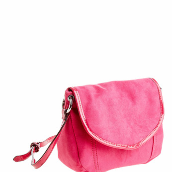 Sac Crossbody à rabat bata, Rouge, 969-5377 - 13
