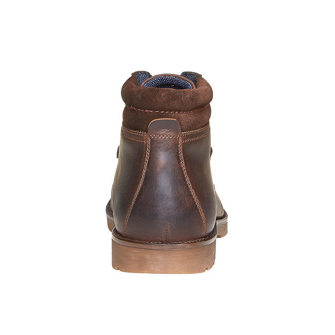 Chaussure en cuir pour homme bata, Brun, 894-4281 - 17
