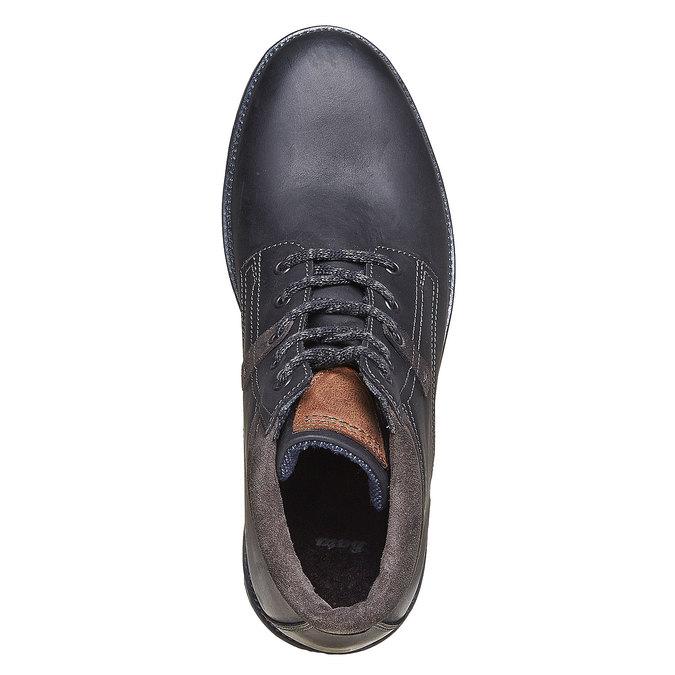 Chaussure montante pour homme bata, Noir, 894-6281 - 19