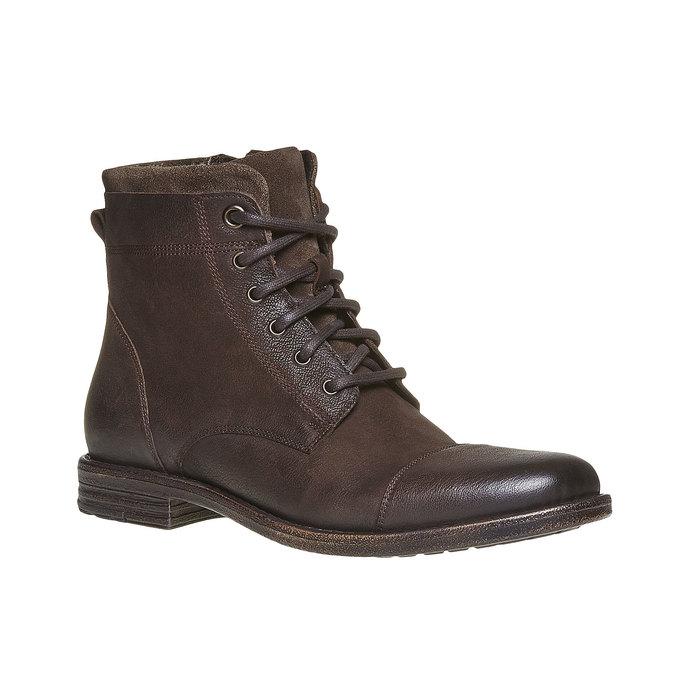 Chaussures d'hiver pour homme bata, Brun, 894-4284 - 13
