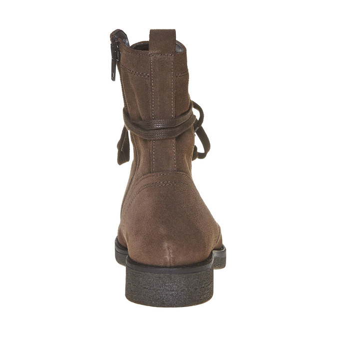 Chaussure en cuir pour femme bata, Brun, 593-4106 - 17