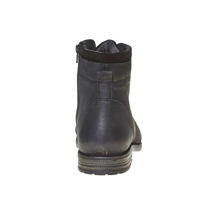 Chaussure en cuir pour homme bata, Noir, 894-6284 - 17