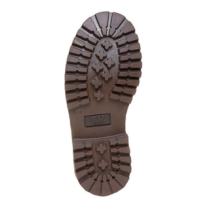 Chaussure en cuir pour enfant weinbrenner-junior, Brun, 394-4182 - 26
